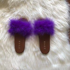 Shoes - 💜Pretty Purple Sandals 💜
